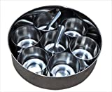 Stainless Steel Spices Container Indian Masala Dabba Box