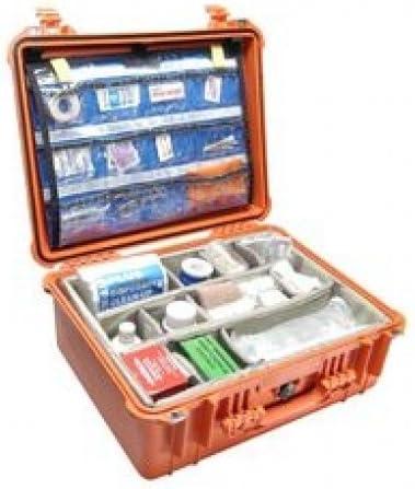 Pelican 1550EMS Bronceado - Caja (Bronceado, 523,7 mm, 428,5 mm, 206,2 mm, 6,8 kg, 468,1 x 355,6 x 193,5 mm): Amazon.es: Deportes y aire libre