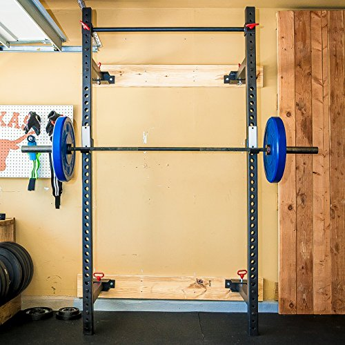 Wall Mount Foldable Power Rack / Easily retracts to store / Strength Training, Weightlifting, Crossfit, Rack price