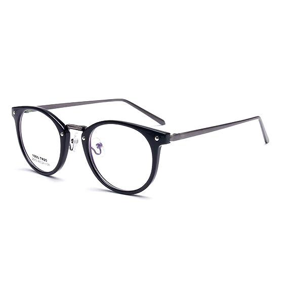 vintage TR90 redondas ultra delgadez Transparentes gafas ...