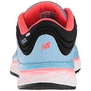 New Balance Women's 1080v8 Fresh Foam Running Shoe, Light Blue, 11 D US