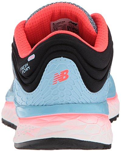 Azul Sky Coral Clear New de Clear Balance para Zapatillas Black 1080v8 Mujer Running Sky Coral Black Vivid Vivid 0RfcqpR