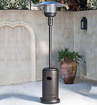 Perfect FireSense Gas Mocha 46,000 BTU Commercial Patio Heater