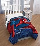 Marvel Spiderman Burst Twin Comforter - Super Soft