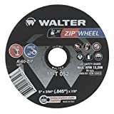 Walter 11T052 5x3/64x7/8 High Performance Zip Wheels Type 1 A60 Grit |