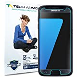Galaxy S7 Screen Protector, Tech Armor High Definition HD-Clear Samsung Galaxy S7 Film Screen Protector [3-Pack]