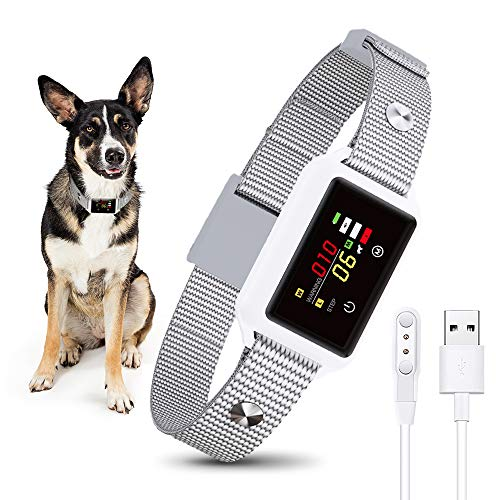 Dog Bark Collar, Anti Bark Collar with Intelligent Bark Control, Dog Training Collar with Beep, Vibration, Shock Modes…