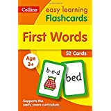 First Words Flashcards: 40 Cards (Collins Easy Learning Preschool)