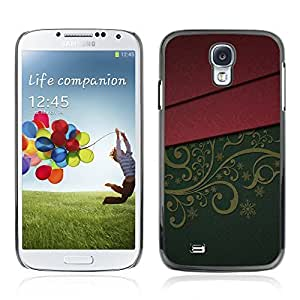 Graphic4You Beautiful Floral Textured Pattern Design Hard Case Cover for Samsung Galaxy S4 S IV