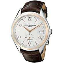 Baume & Mercier Men's BMMOA10139 Clifton Analog Display Swiss Automatic Brown Watch
