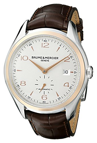 Baume-Mercier-Mens-BMMOA10139-Clifton-Analog-Display-Swiss-Automatic-Brown-Watch