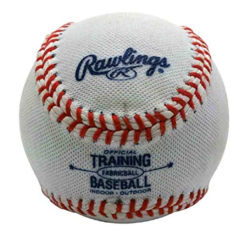 Rawlings Soft-Core Fabric-Cover Training Baseball FABRICBALL