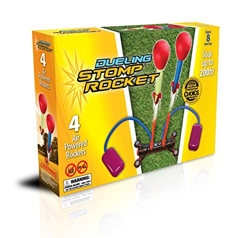 The Original Stomp Rocket: Dueling 4-Rocket (Ultra Stomp Rocket)