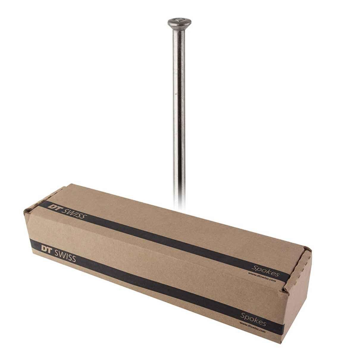 DT Swissチャンピオン2.0空白スポーク: Straight Pull 315 mm Threadlessシルバーボックス   B07B4M3WZL