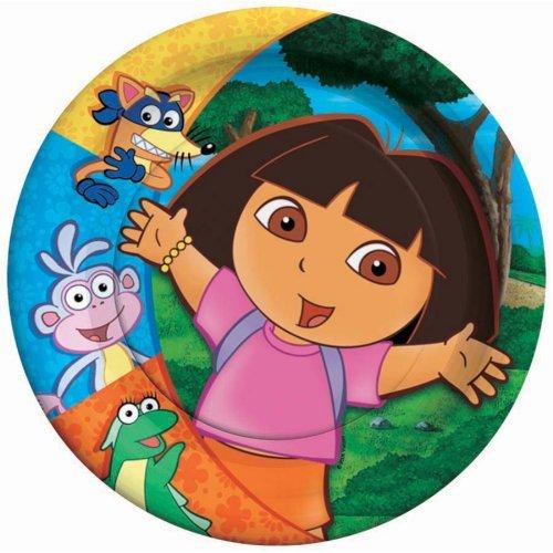 Dora Dessert Plates, 8ct