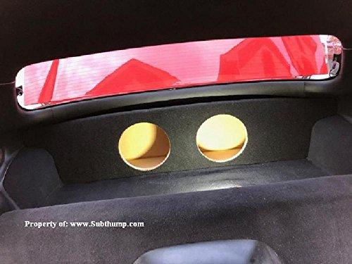 (1997-2004 C5 Corvette Z06/FRC Corvette Partition Subwoofer Box)