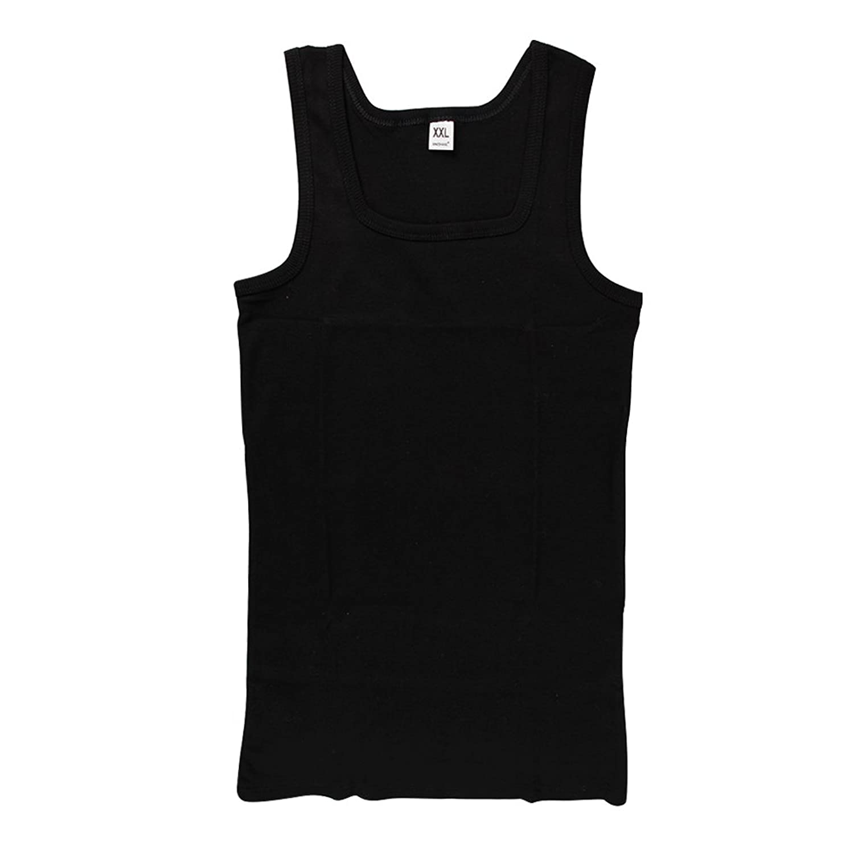 Chnli Men's New Athletic T-Shirts Tank Top Sleeveless Tee A-Shirt Cotton  Vest Tops: Amazon.co.uk: Clothing