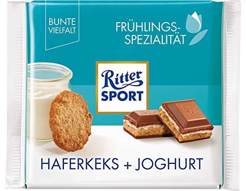 Ritter Sport Oat Biscuit + Yogurt Chocolate Bar Candy Original German Chocolate 100g/3.52oz