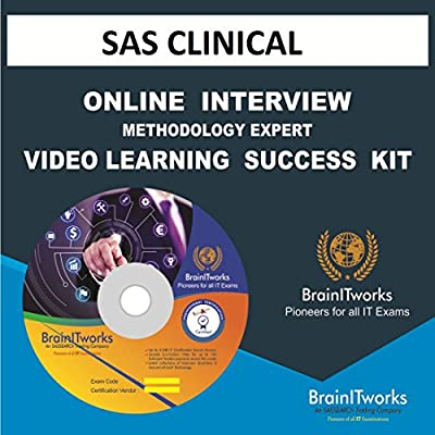 SAS CLINICAL Online Interview video learning SUCCESS KIT