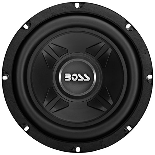 Boss Audio Systems CXX8 Car Subwoofer - 600 Watts Maximum Power, 8 Inch, Single 4 Ohm Voice Coil, Easy Mounting - Sold Individually (Shallow Mount Subwoofer 8 Inch)
