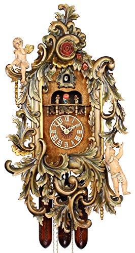 Adolf Herr Cuckoo Clock - The Gilded Cherub Clock