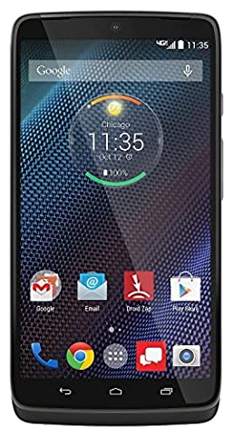 Motorola Droid Turbo - 32GB Android Smartphone - Verizon - Black (Certified Refurbished) (Verizon Camera Phones)