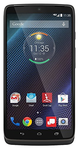 Motorola Droid Turbo - 32GB Android Smartphone - Verizon - Black (Certified Refurbished)