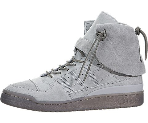 Adidas Men's Forum Hi Moc Stone/Stone/Clay Casual Shoe 9.5 Men - Forum Men Fashion