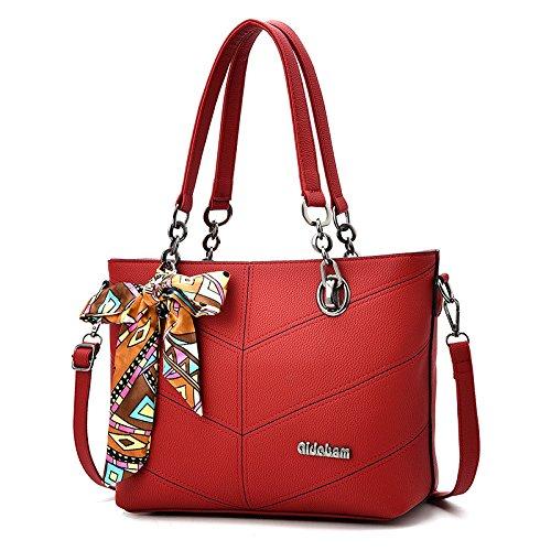 Bow Bag JPFCAK Shoulder Ms Casual Bag PU Shoulder Moda Crossbody G Hand Bags City Bag Classic qqg0A