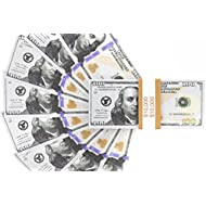 Realistic Double Sided Prop Money - Set of 100 $100...