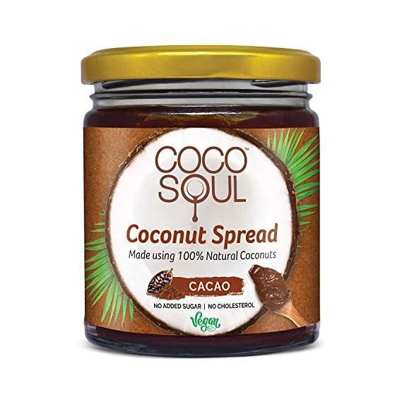 Coco Soul Coconut Spread Cacao Jar, 265 g