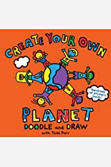Todd Parr Create Your Own Planet! Doodle and Draw Paperback