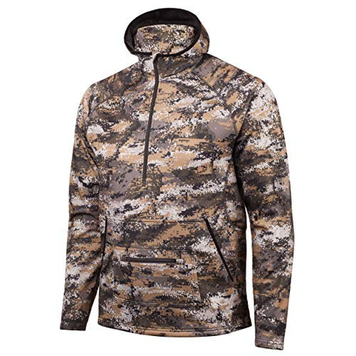 1/2 Zip Pullover Knitted Fleece - 3