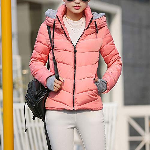 Invernale Manica Jacket Donna Donna Maglia Manicotto Lunga Sportive A Cappotto Rosa Casuale Felpa Delle Bazhahei Autunno Di Elegante maglione Cotone corto Del Cardigan Giacca n8aAn5qwBR