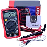 UNI-T UT33C Plus Digital Palm Size Multi Meter Voltmeter Ammeter Resistance LCR and Temperature with Backlight