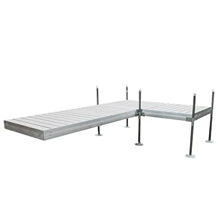 Amazon.com : Tommy Docks 12 ft. L-Style Aluminum Frame with ...