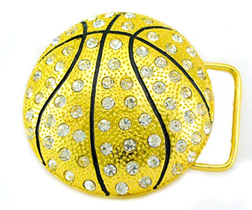 - HIP HOP BLING ICED OUT Gold Tone Best Basketball Player BELT BUCKLE