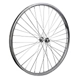 Wheel Master Front Bicycle Wheel 26 x 1.75/2.125 (ISO 559) 36H, Steel, Bolt On, Silver, 3/8''