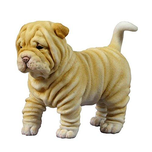 Shar Pei Puppy Dog Animal Figurine