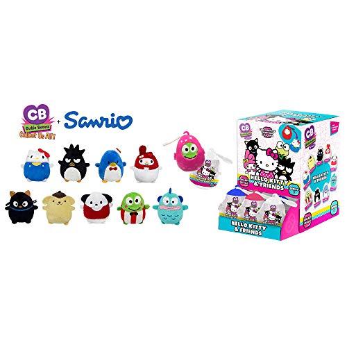 Hello Kitty Frog - Fiesta Toys Mystery Mini Cutie Beans Sanrio Hello Kitty and Friends Animal Plush Clip On Toys Series 1 - 2 Piece Set