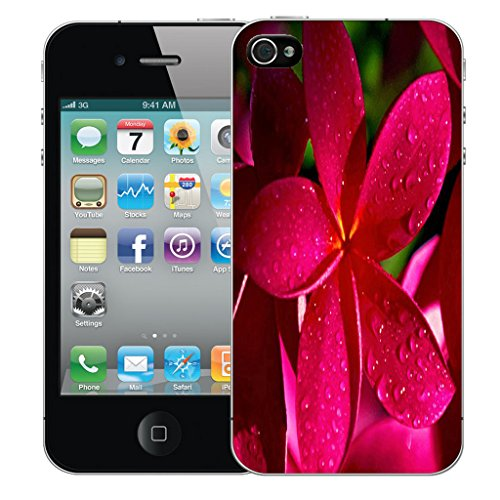 Mobile Case Mate iPhone 5c Silicone Coque couverture case cover Pare-chocs + STYLET - Fuschia pattern (SILICON)