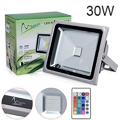 Porpora 30W LED RGB Flood Light Ideal for outdoor lighting such as Parking lot lighting, Construction building, Advertisement billboard, Landscape