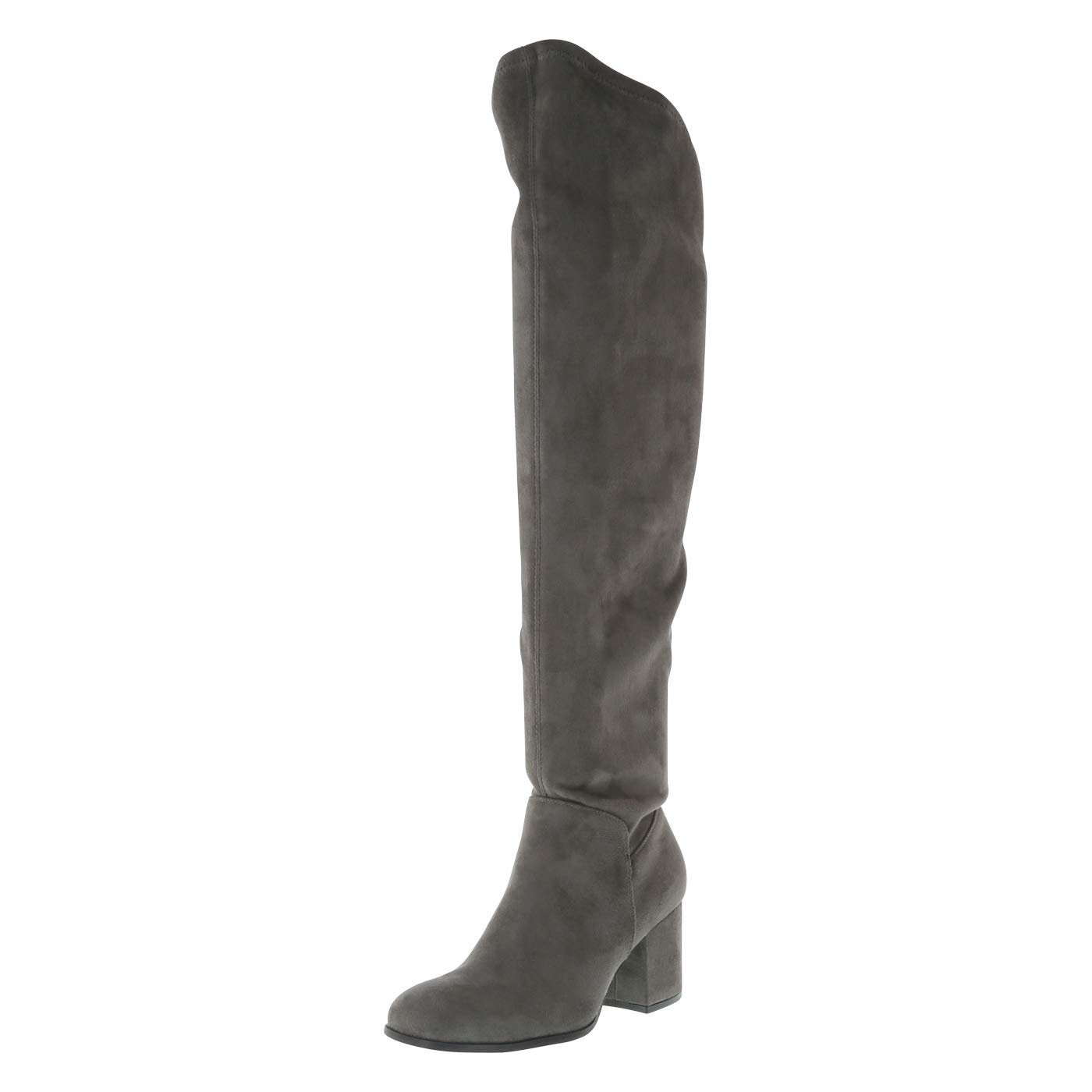 d7037474f0f Christian Siriano for Payless Charcoal Women s Samiya Over-The-Knee Boot  9.5 Regular