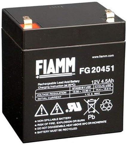 Fiamm Batteria Serie FG 12V Alimentazione di emergenza UPS ...