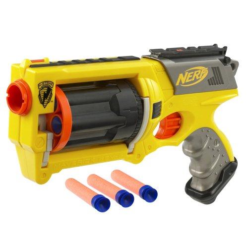 Nerf N-Strike Maverick - Colors May Vary(Discontinued by manufacturer) - Nerf N-strike Maverick Blaster