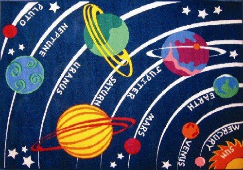 LA Rug Solar System Rug 8'x11'