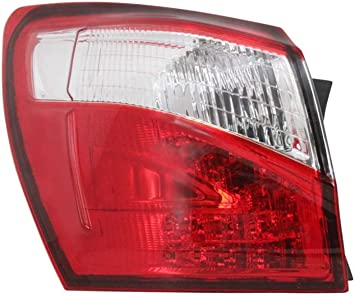 LED Faro Fanale Posteriore esterno sinistro per Nissan Qashqai J10