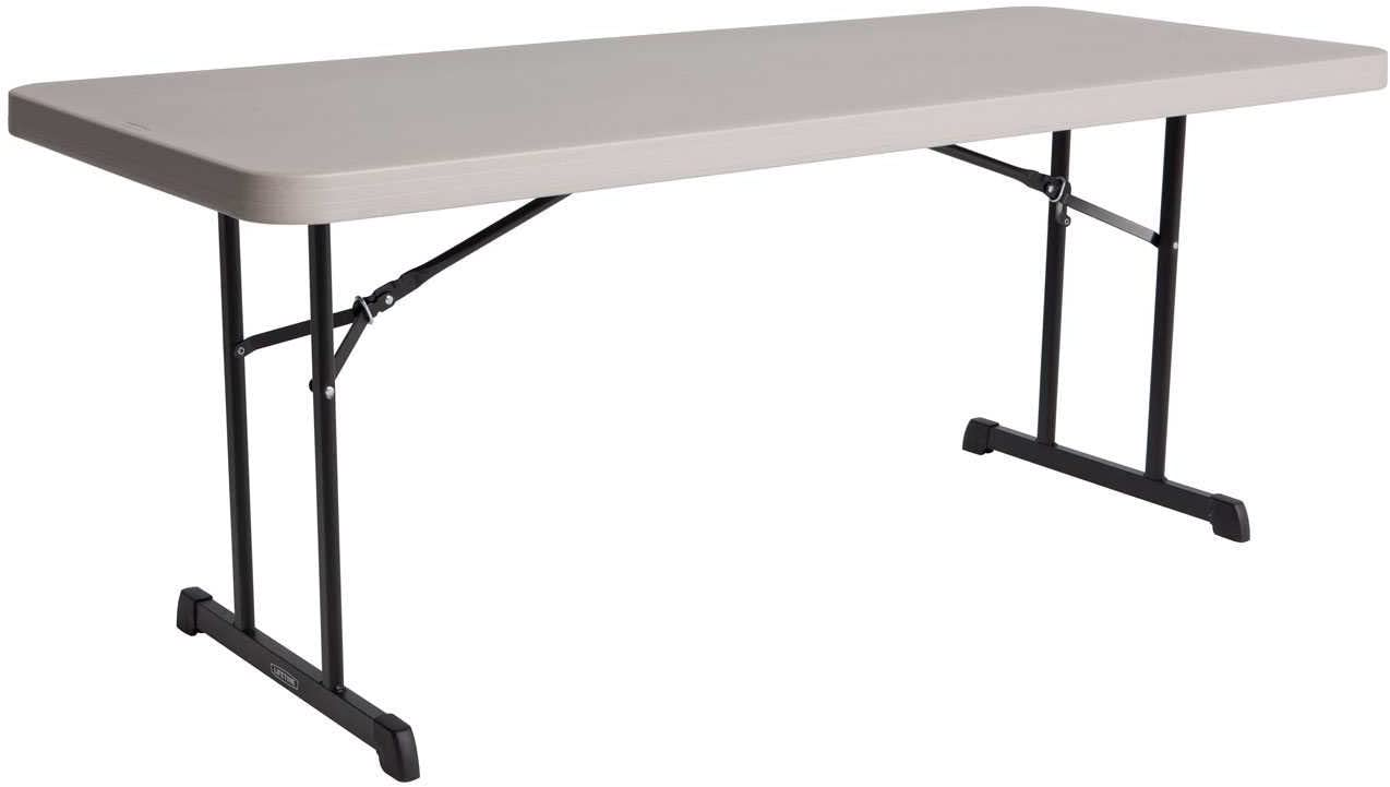 Lifetime 80126 Professional Grade Folding Table, 6 Feet