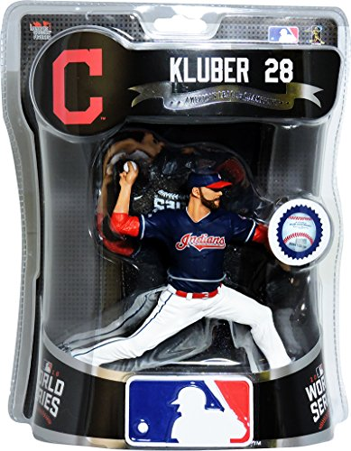 Limited Edition Statue Figure - Corey Kluber Cleveland Indians W.S. Imports Dragon Action Figure L.E. /2000