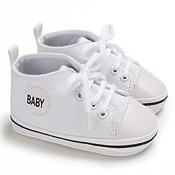 Baby Shoes, Baby Denim Hight Cut Shoe Sneaker by WOCACHI